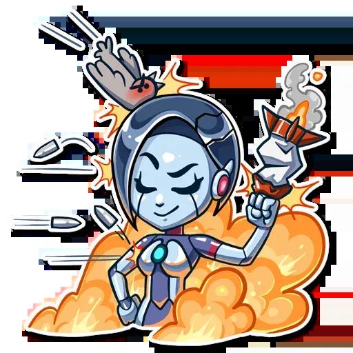 Go Robot - Sticker 21
