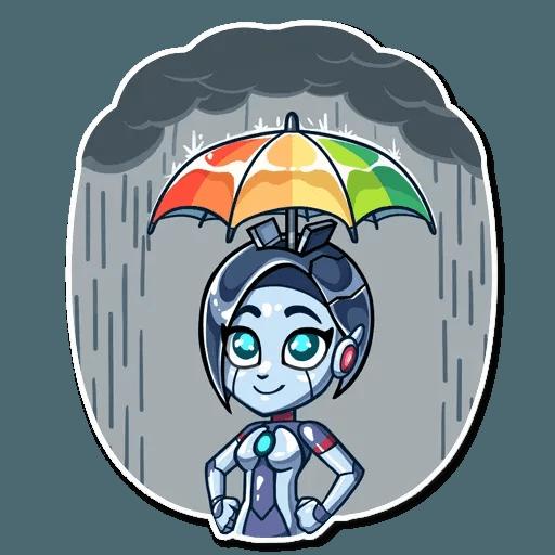 Go Robot - Sticker 25