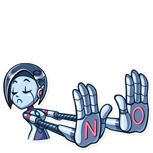 Go Robot - Sticker 24
