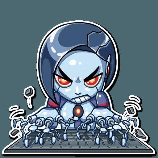 Go Robot - Sticker 2