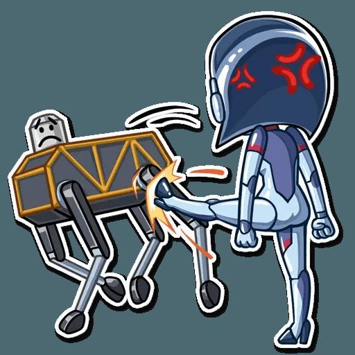 Go Robot - Sticker 28
