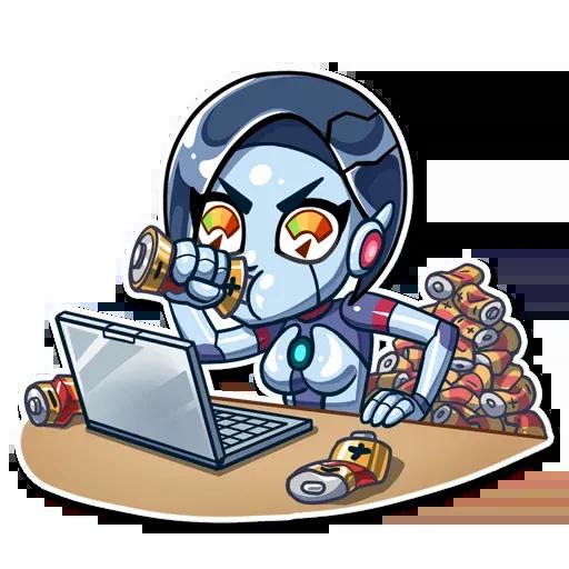 Go Robot - Sticker 20