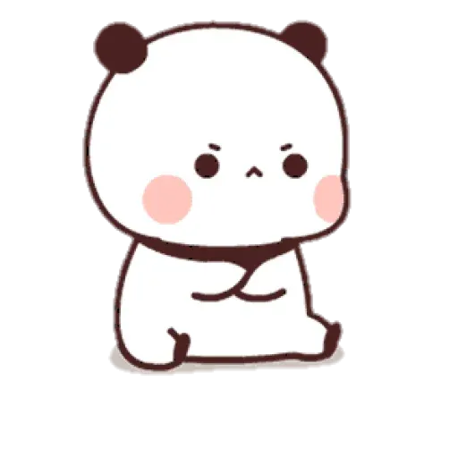 Panda cute - Sticker 13