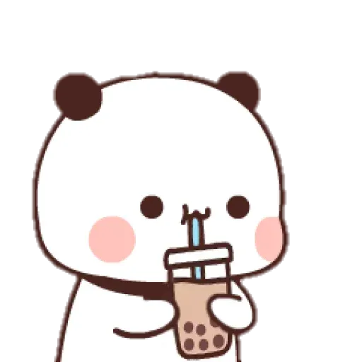 Panda cute - Sticker 14