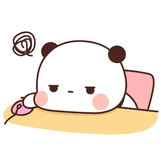 Panda cute - Sticker 10