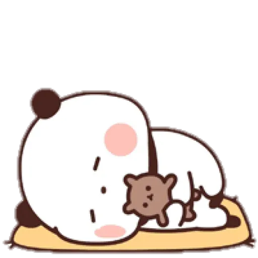 Panda cute - Sticker 11