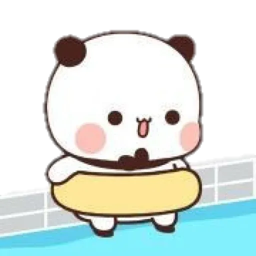 Panda cute - Sticker 3