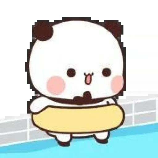 Panda cute - Sticker 3