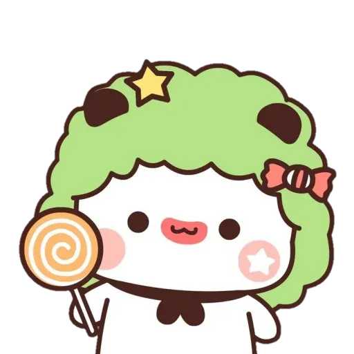 Panda cute - Sticker 7