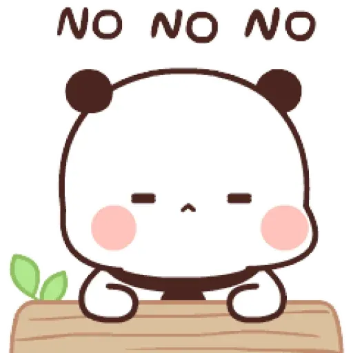 Panda cute - Sticker 17