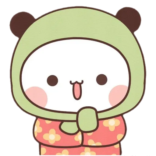 Panda cute - Sticker 2