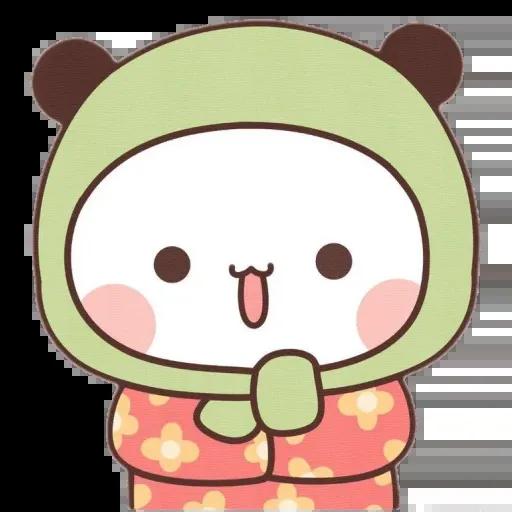Panda cute - Sticker 2