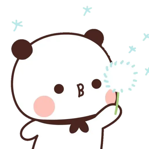 Panda cute - Sticker 21