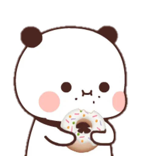 Panda cute - Sticker 12