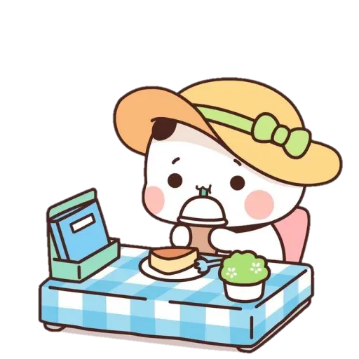 Panda cute - Sticker 5