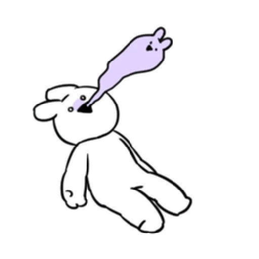Extremely rabbit - for everyday - Sticker 11