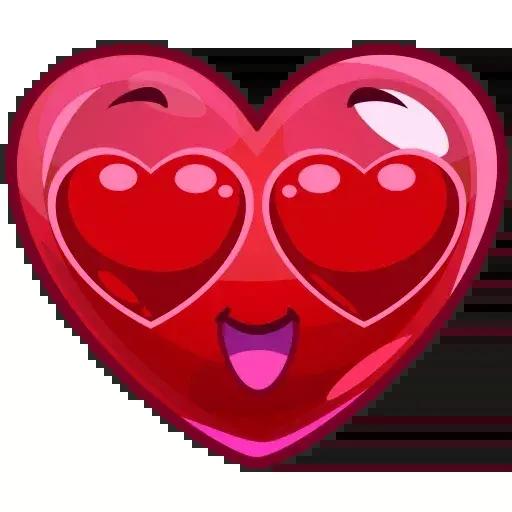 Cute Emojis - Sticker 1