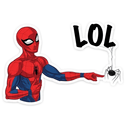 Spiderman - Sticker 9