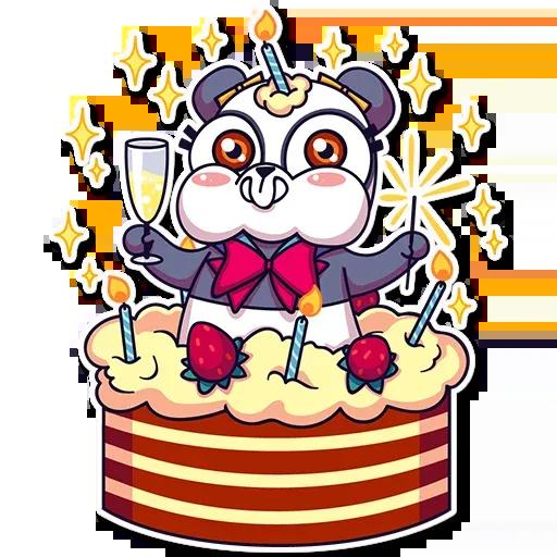 Panda Chan - Sticker 26