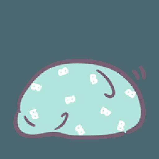 Baobao in bed - Sticker 14