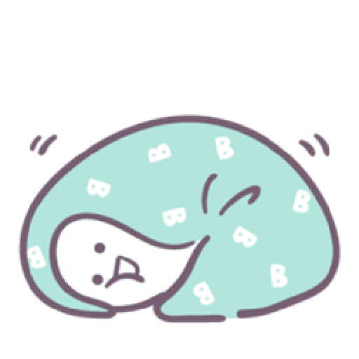 Baobao in bed - Sticker 18