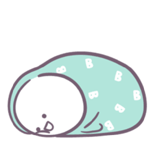 Baobao in bed - Sticker 9