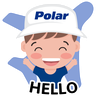 Polar Family - Tray Sticker