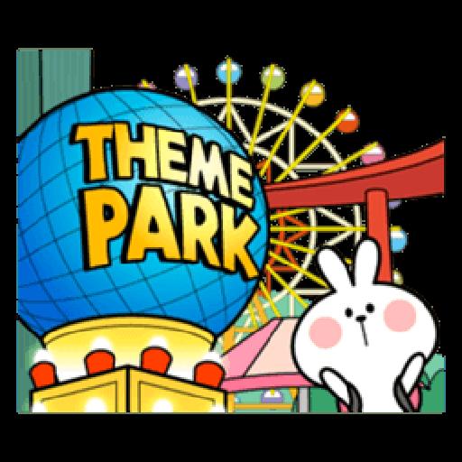 Spoiled Rabbit Date - Sticker 23