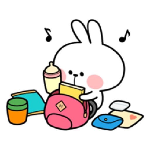 Spoiled Rabbit Date - Sticker 4