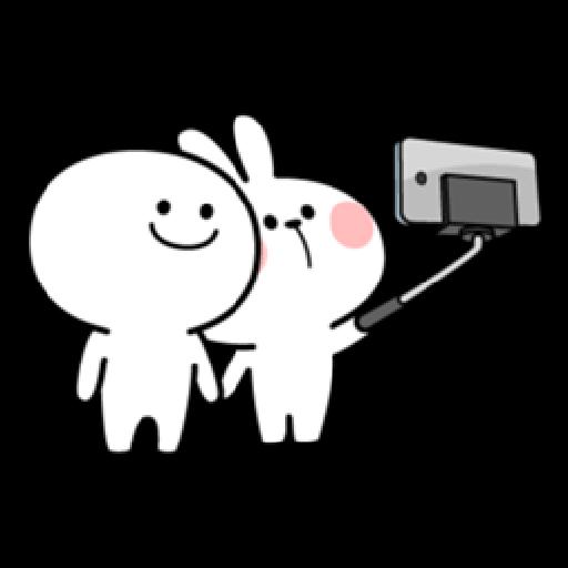 Spoiled Rabbit Date - Sticker 9