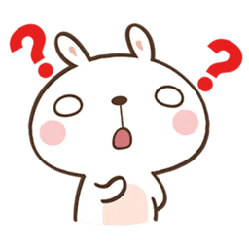 笑兔兔 - Sticker 10