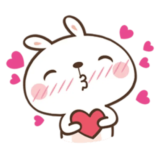 笑兔兔 - Sticker 3