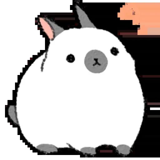 Sentimientos de Conejos - Sticker 1