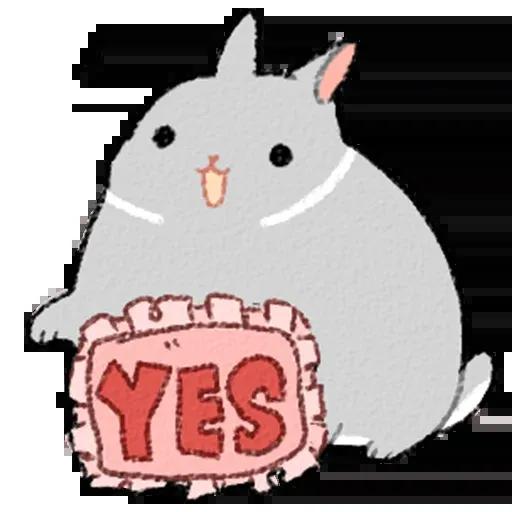 Sentimientos de Conejos - Sticker 23