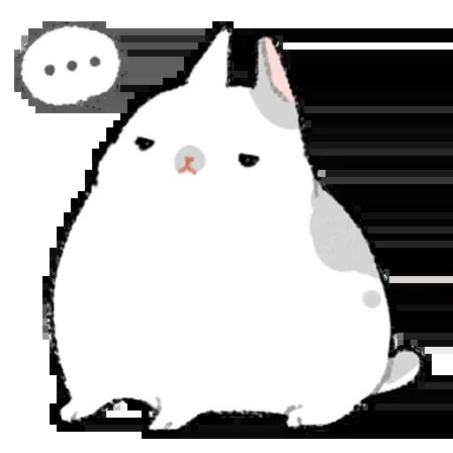 Sentimientos de Conejos - Sticker 24