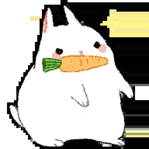 Sentimientos de Conejos - Sticker 7