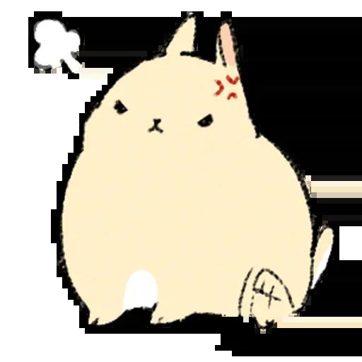 Sentimientos de Conejos - Sticker 3