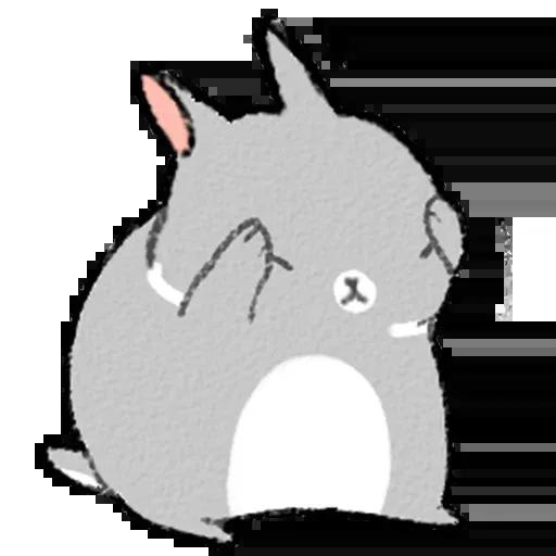 Sentimientos de Conejos - Sticker 4