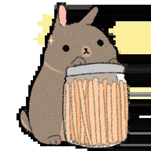Sentimientos de Conejos - Sticker 13