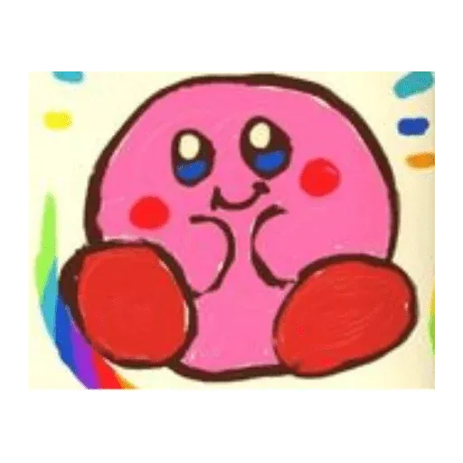 Kirby reacts - Sticker 9