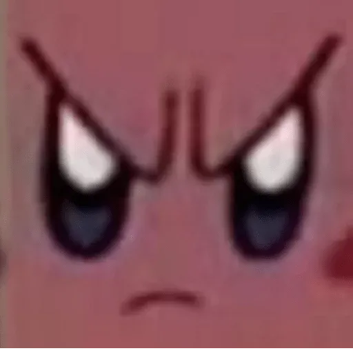 Kirby reacts - Sticker 10