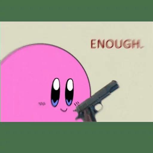 Kirby reacts - Sticker 6