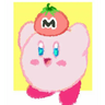 Kirby reacts - Tray Sticker