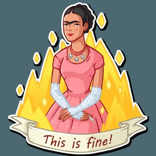 Frida Kahlo - Sticker 3