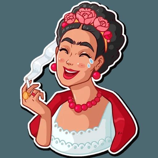 Frida Kahlo - Sticker 28