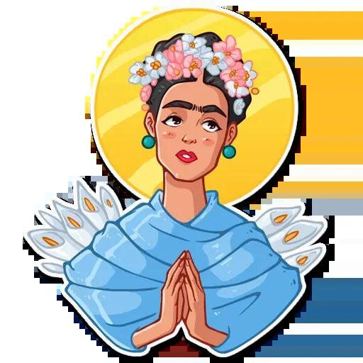 Frida Kahlo - Sticker 25