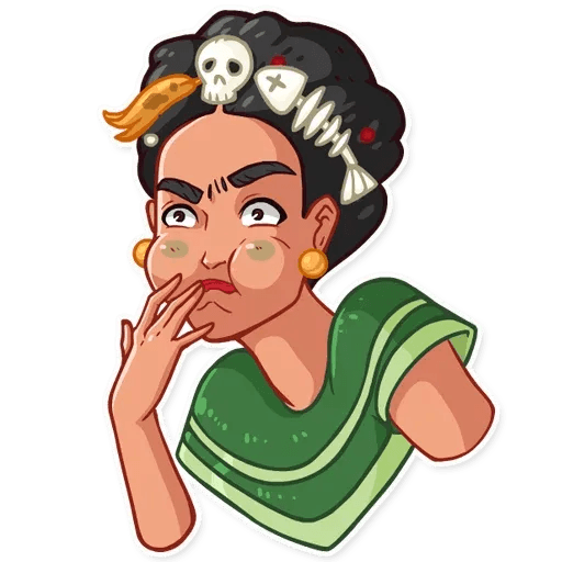 Frida Kahlo - Sticker 21