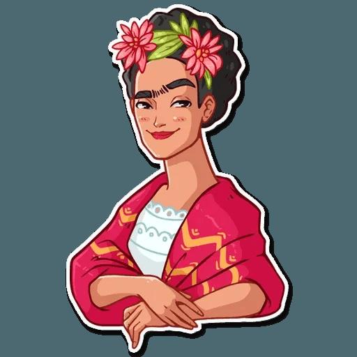 Frida Kahlo - Sticker 30