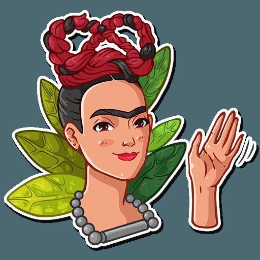 Frida Kahlo - Sticker 2