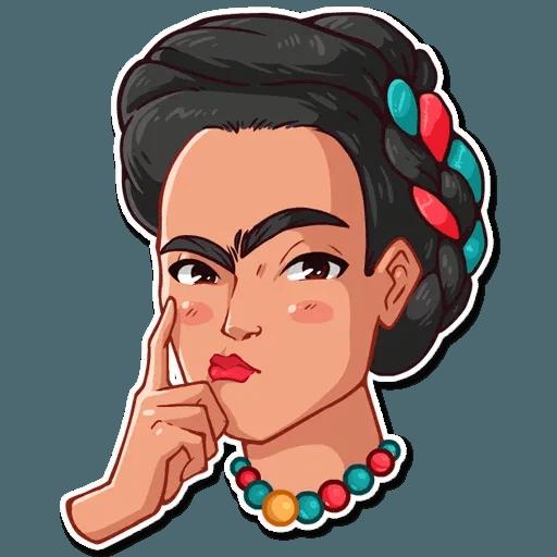 Frida Kahlo - Sticker 19